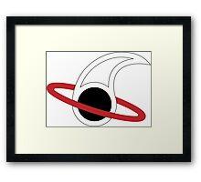 Forbidden Planet Insignia  Framed Print