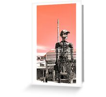 The Rusted Factory Greeting Card
