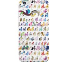 100 PONIES MEGA-PATTERN iPhone Case/Skin