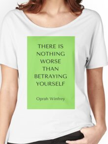 Betraying Yourself Women's Relaxed Fit T-Shirt