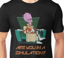 Rick and Morty – Are You in a Simulation? Unisex T-Shirt