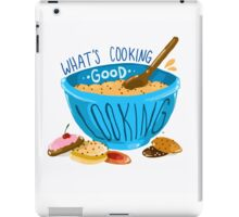What's cooking, good looking?  iPad Case/Skin