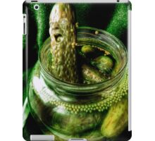 Pandora's pickle jar iPad Case/Skin