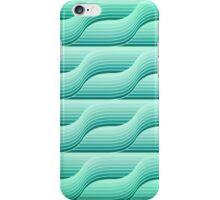 Retro geometric background iPhone Case/Skin
