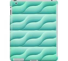 Retro geometric background iPad Case/Skin