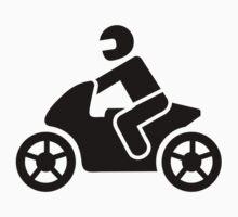 Motorcycle icon Kids Tee