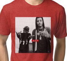 JCole & Kendrick Lamar Tri-blend T-Shirt