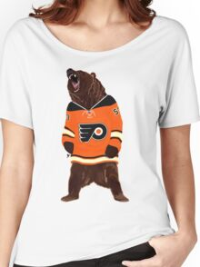 Flyers Ghost Bear Women's Relaxed Fit T-Shirt