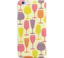 Simple wine iPhone Case/Skin