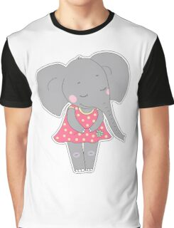 Cute elephant girl Graphic T-Shirt