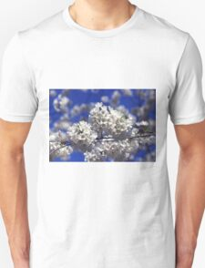 Cherry Tree Blossoms Unisex T-Shirt