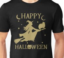 Happy Halloween T-Shirt, Great Pomeranian Dog Lovers Gift Unisex T-Shirt