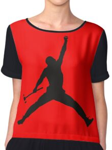 Croquet Jump Man Chiffon Top