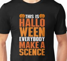 Happy Bowling Halloween T-Shirt, Funny Gift For Men Or Women Unisex T-Shirt