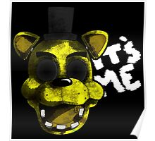 Golden Freddy Poster