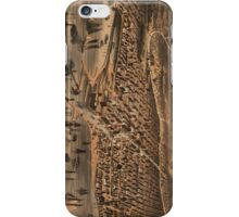 Vintage Pictorial Map of Chicago (1871) iPhone Case/Skin