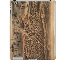 Vintage Pictorial Map of Chicago (1871) iPad Case/Skin