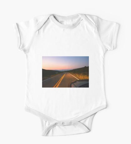 Sunrise Highway, San Diego County, California One Piece - Short Sleeve