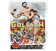 Vintage poster - Goliath and the Barbarians Poster