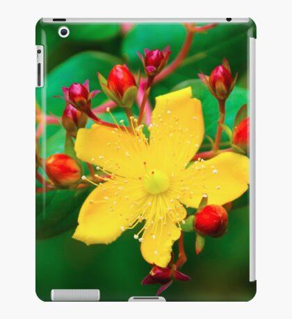 Yellow Blossom iPad Case/Skin