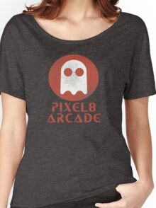 Pixel 8 Arcade Women's Relaxed Fit T-Shirt