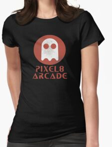 Pixel 8 Arcade Womens Fitted T-Shirt