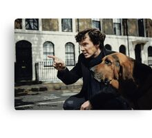 Sherlock 3 Canvas Print