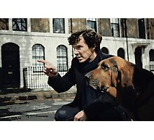 Sherlock 3 Photographic Print