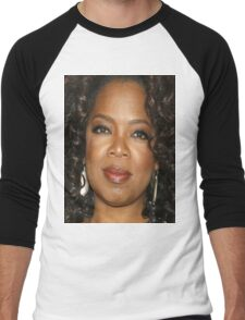 Oprah Close Up Men's Baseball ¾ T-Shirt