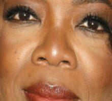 Oprah Close Up Sticker