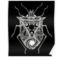 cosmic stink bug in white Poster