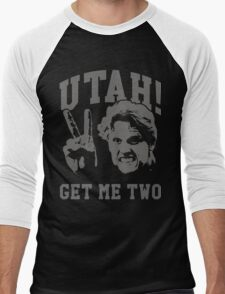 Utah Get Me Two Men's Baseball ¾ T-Shirt