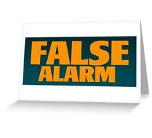False Alarm - The Weeknd Greeting Card