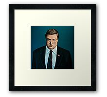 John Goodman Painting Framed Print