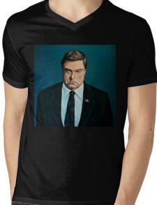 John Goodman Painting Mens V-Neck T-Shirt