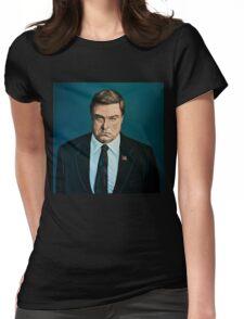 John Goodman Painting Womens Fitted T-Shirt