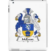 McEwan Coat of Arms / McEwan Family Crest iPad Case/Skin