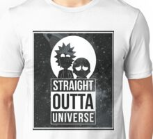 Rick and Morty - Straight Outta Universe Unisex T-Shirt
