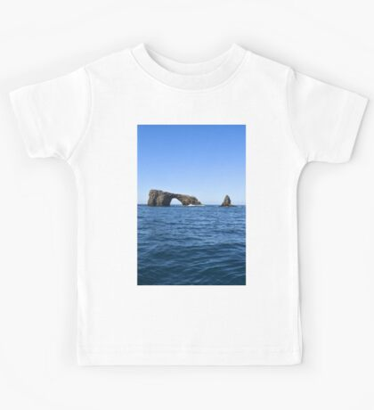Arch Rock, Channel Islands National Park, California Kids Tee