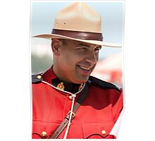 Canadian Mountie Poster