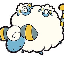 Mareep by Andrew Farr