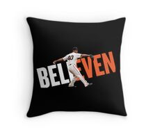 believen Throw Pillow