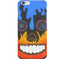 Sugar Skull Elements- Fire and Water iPhone Case/Skin