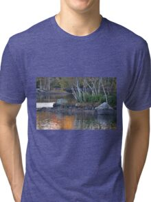 Last reflections of the day Tri-blend T-Shirt