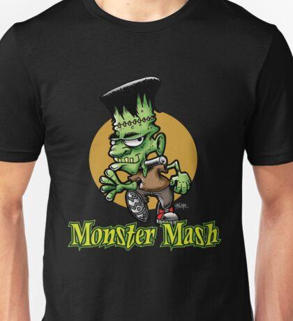 Frankenstein Monster Mash Halloween Unisex T-Shirt
