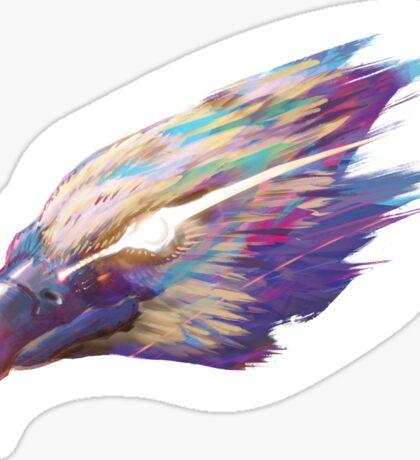 Color Eagle Sticker