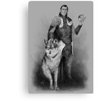 The Count Canvas Print
