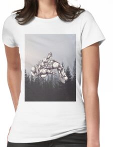 Lost in this World  Womens Fitted T-Shirt
