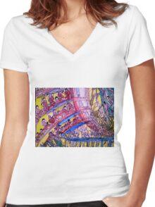 Matrix Women's Fitted V-Neck T-Shirt