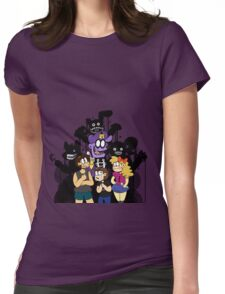 THE FNAF FAMILY Womens Fitted T-Shirt